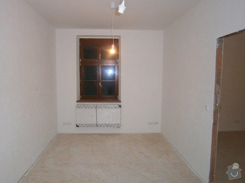 Přestavbu cihlového bytu 2+1 na 3+kk: 17