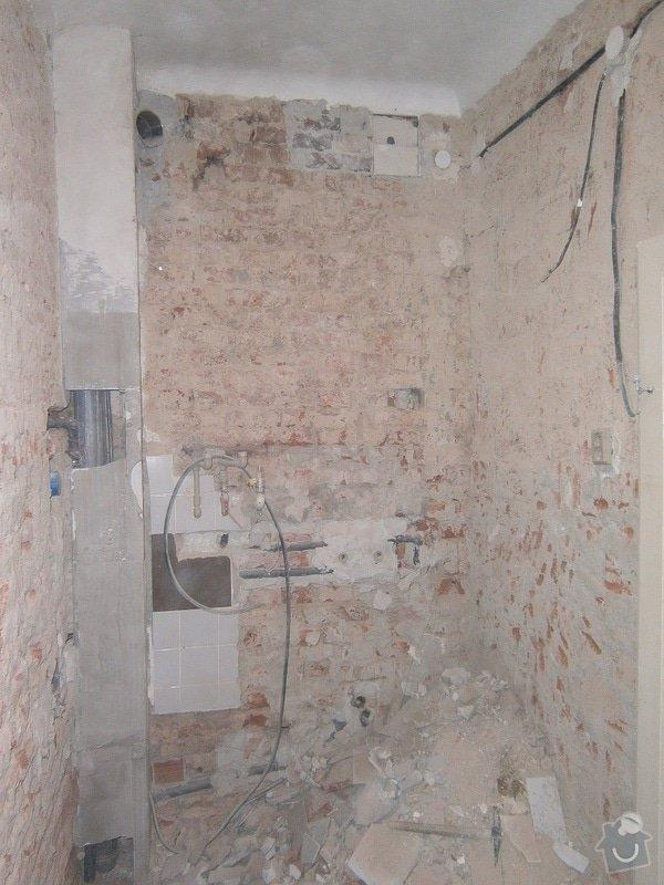 Přestavbu cihlového bytu 2+1 na 3+kk: 20