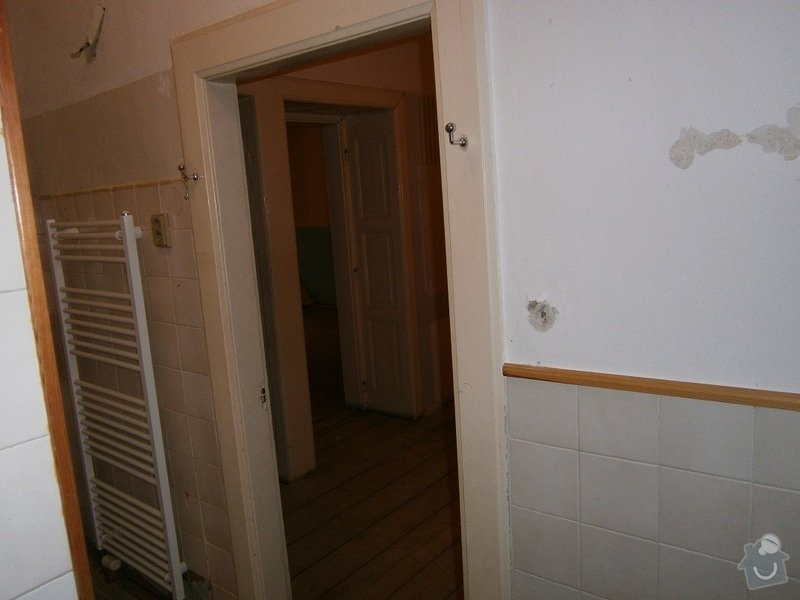 Přestavbu cihlového bytu 2+1 na 3+kk: 24