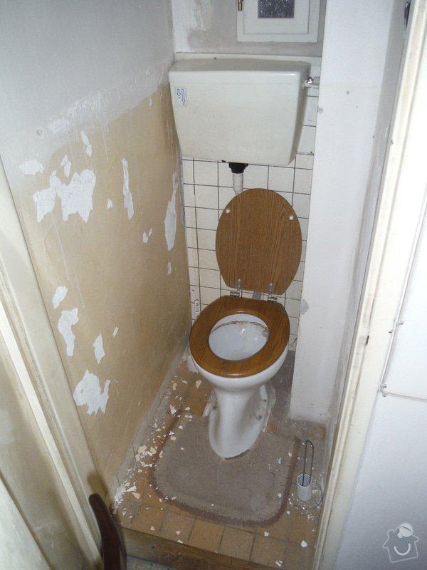 Nový obklad a dažba v koupelně a WC: DSCF0455