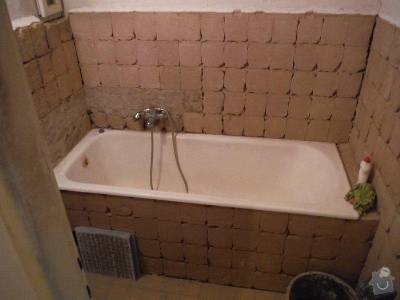Nový obklad a dažba v koupelně a WC: DSCF0462