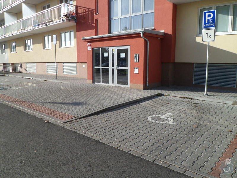Instalace 10ks sklopných parkovacích zábran: SAM_0265