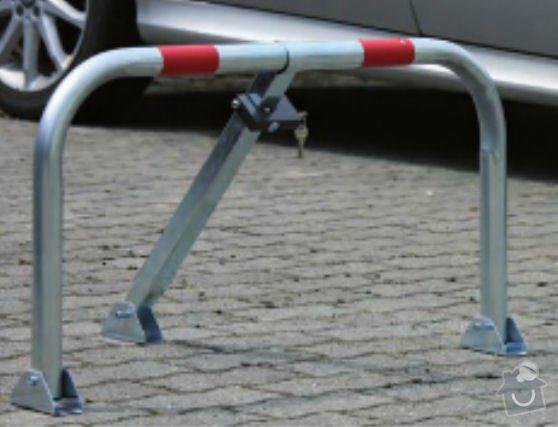 Instalace 10ks sklopných parkovacích zábran: Image2