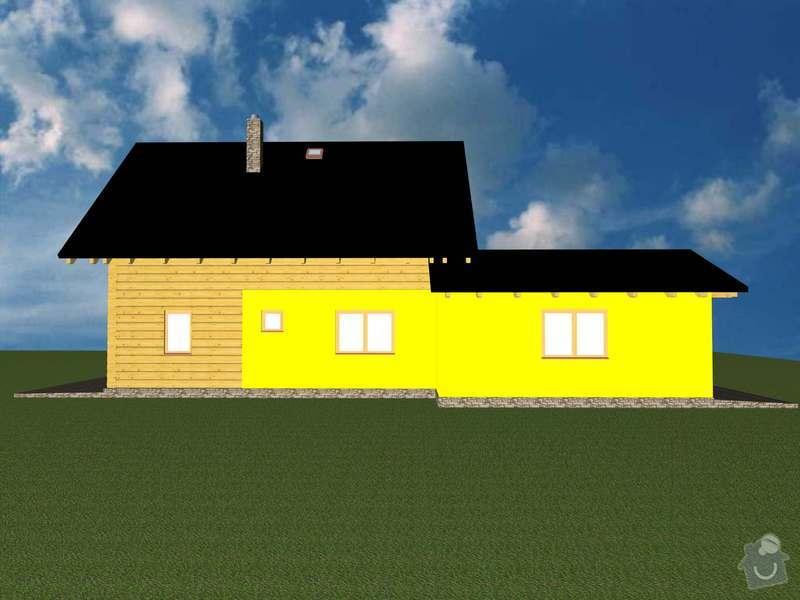 Odbornou pomoc, pracovní sílu pro stavbu zákl. desky a zděné části přízemí poloroubenky: 07_RD_Cerna_Hora__Keller__2013-11-28_V9_2