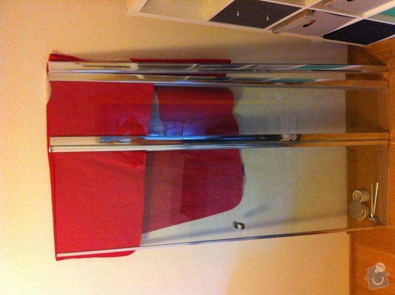 Instalatérské práce, sprchový kout 2x, vana 1x, opravy a nové instalce: SprchKout-koupelna-Zastena-1
