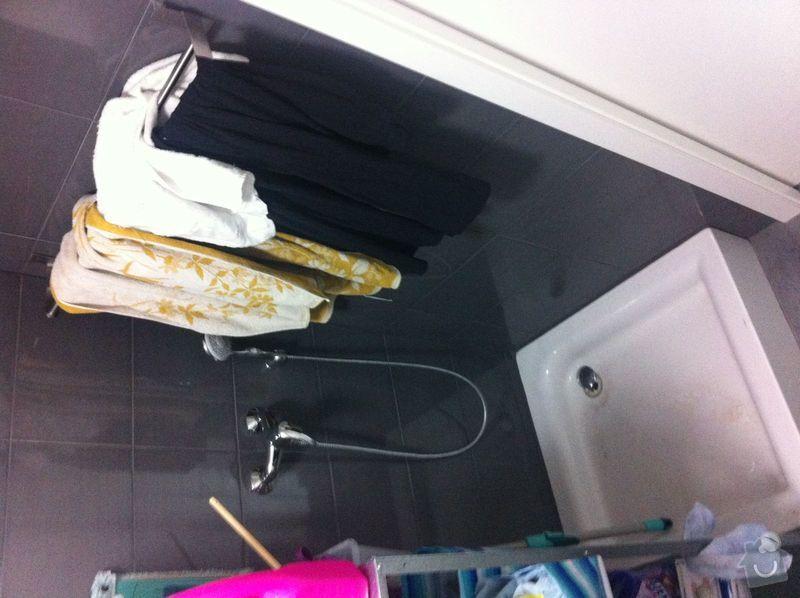 Instalatérské práce, sprchový kout 2x, vana 1x, opravy a nové instalce: SprchKout-technicka-3