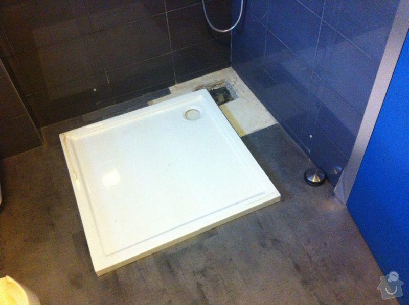 Instalatérské práce, sprchový kout 2x, vana 1x, opravy a nové instalce: SprchKout-koupelna-3