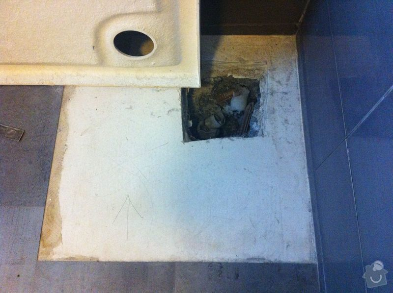 Instalatérské práce, sprchový kout 2x, vana 1x, opravy a nové instalce: SprchKout-koupelna-2