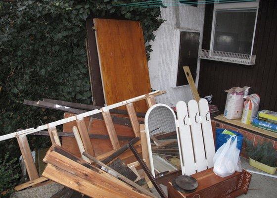 Odvoz odpadu po vyklizení bytu