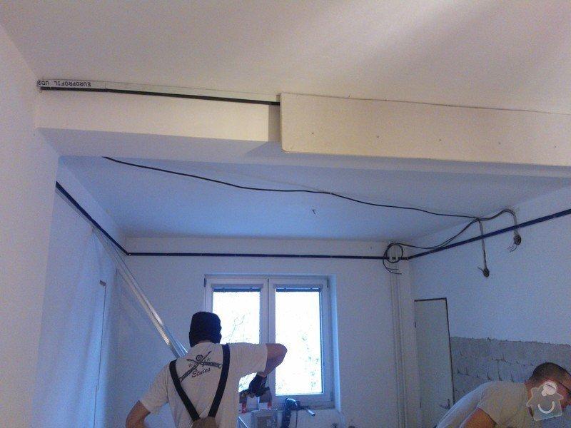 Sádrokartonové příčky a další: snizeni-a-srovnani-stareho-stropu-zabudovani-led-osvetleni_WP_002328