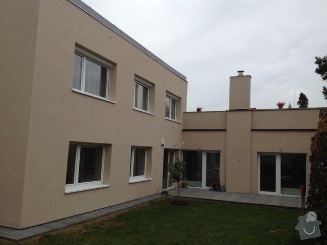 Zateplení fasády, klempířské práce: Saveljevova