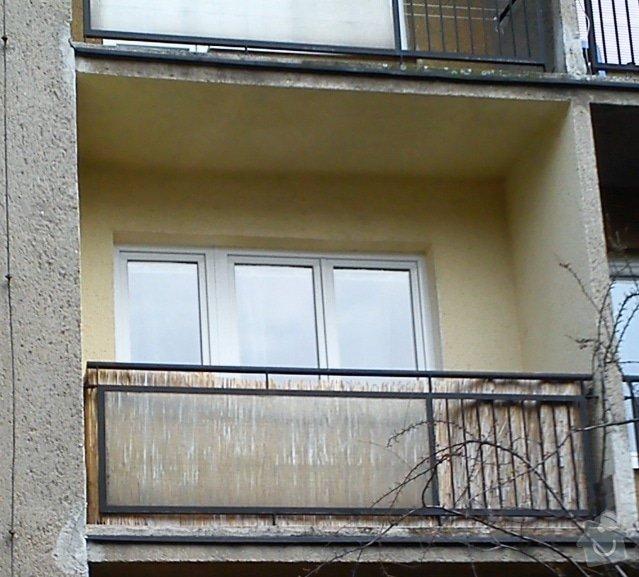 Zasklení balkónu: DSC_0647