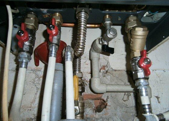 Oprava kondenzačního plynového kotle