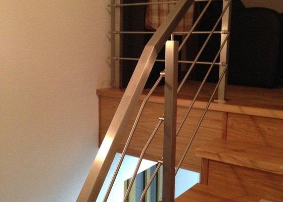 Zábradlí + schodiště