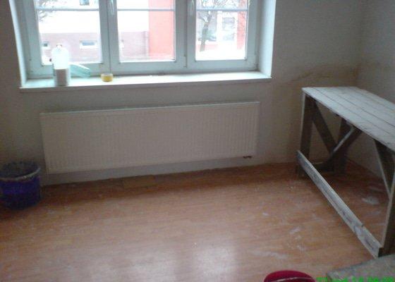Rekonstrukce ZTI,ÚT,Plynu v bytě