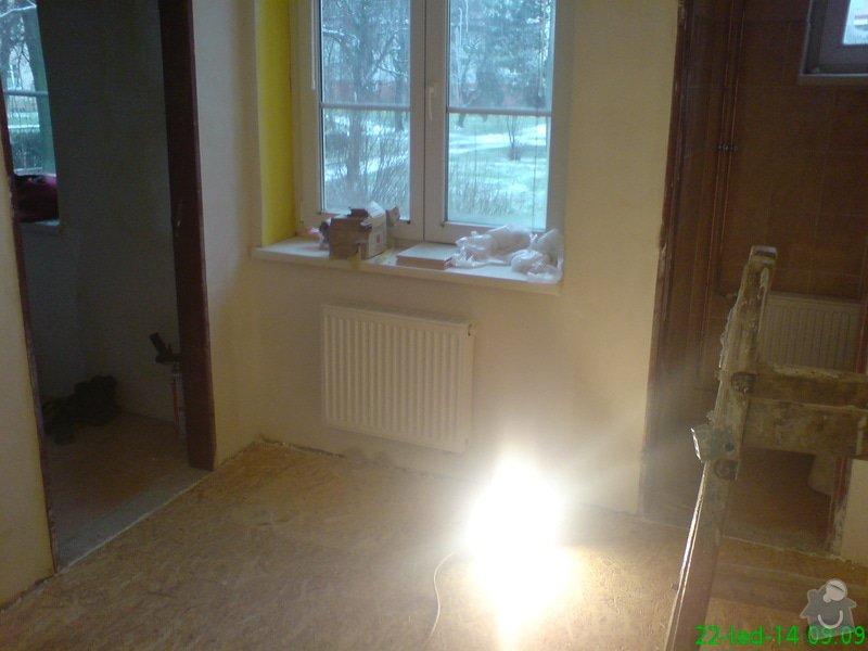 Rekonstrukce ZTI,ÚT,Plynu v bytě : DSC00012