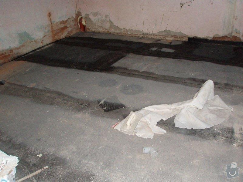 Dokončení podlahy 30 m2: podlaha