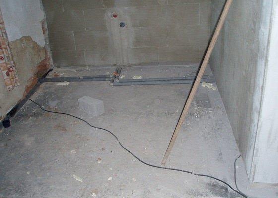 Dokončení podlahy 30 m2