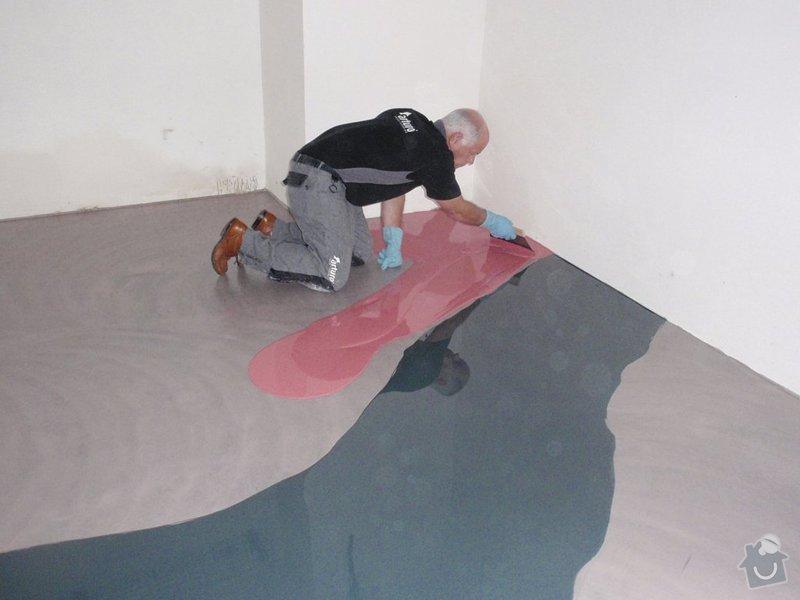 Rekonstukce koupelny: lite_podlahy
