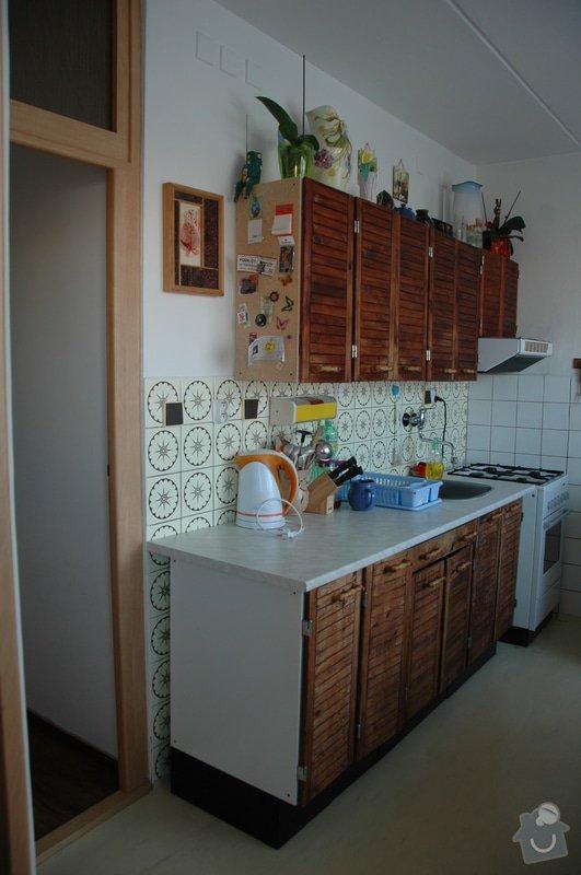 Rekonstrukce kuchyně v panelovém domě: DSC_6983