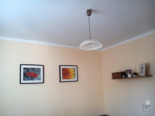 Zednické práce - sadrokartonový strop, perlinka na zdi: DSC_0652