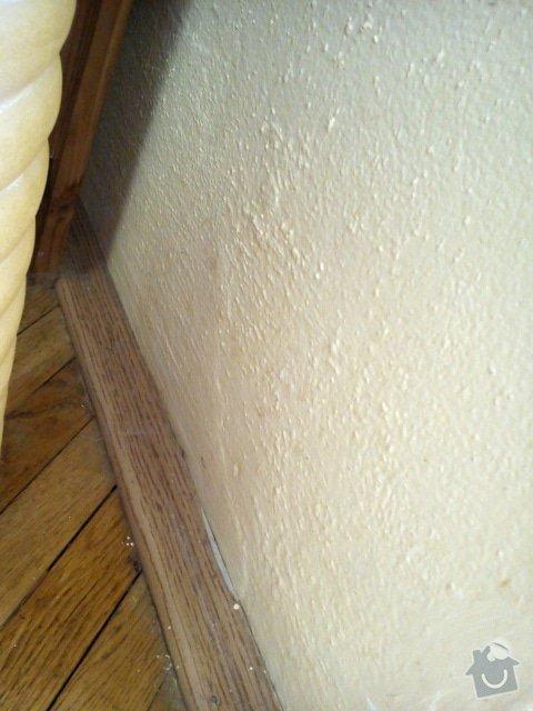 Zednické práce - sadrokartonový strop, perlinka na zdi: DSC_0655