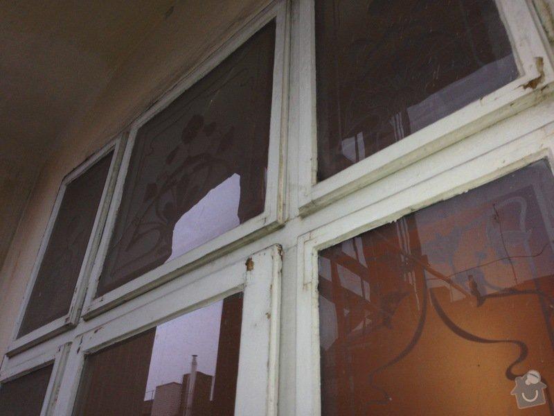 Renovace ramov balkonovych vitrazi, dum z roku 1901 na Prahe 7: IMG_1970