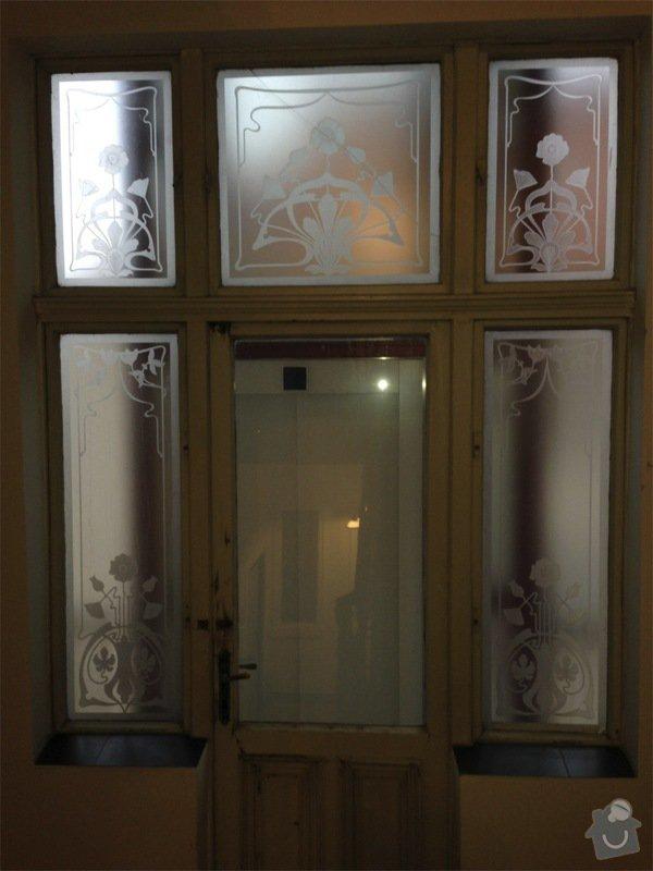 Renovace ramov balkonovych vitrazi, dum z roku 1901 na Prahe 7: IMG_1966