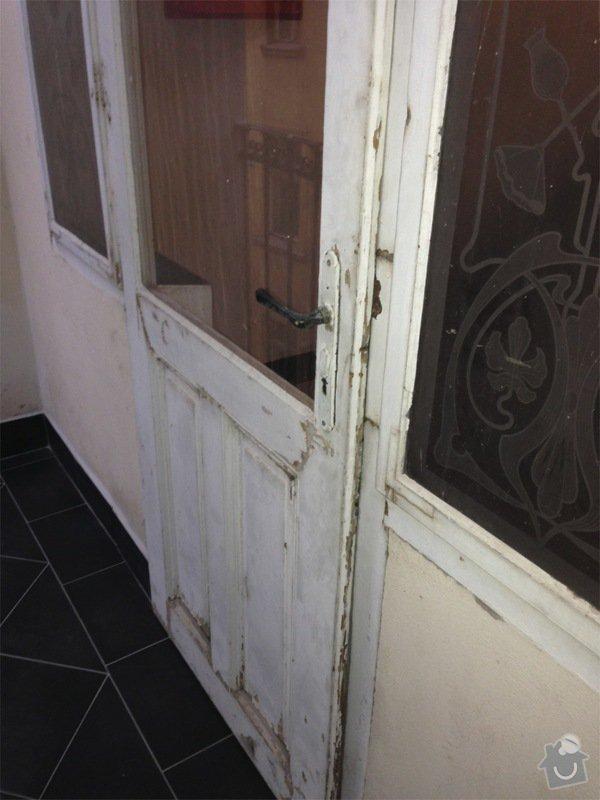 Renovace ramov balkonovych vitrazi, dum z roku 1901 na Prahe 7: IMG_1969
