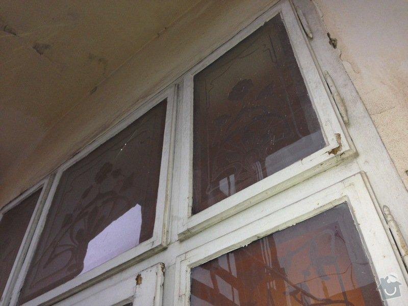 Renovace ramov balkonovych vitrazi, dum z roku 1901 na Prahe 7: IMG_1971