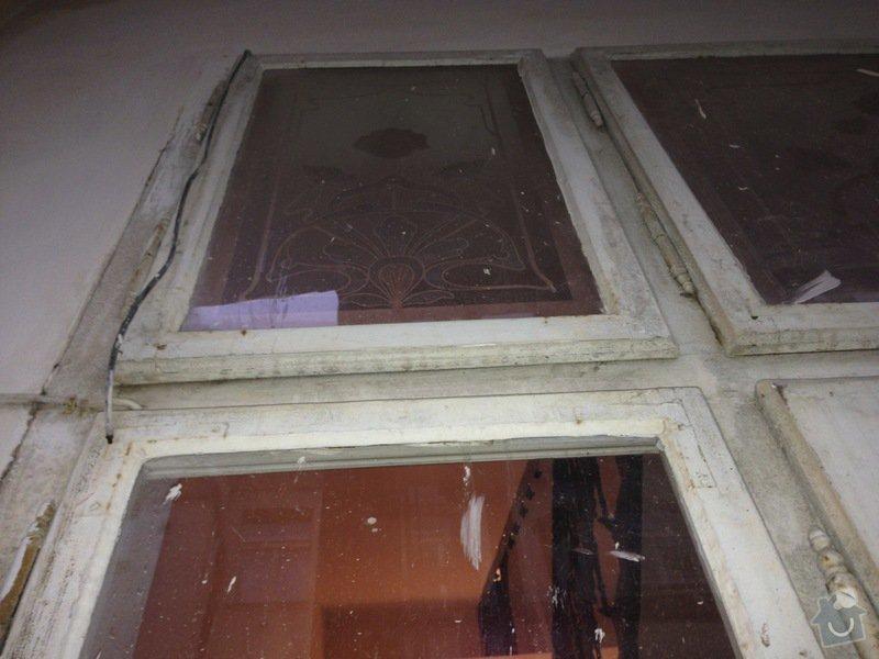 Renovace ramov balkonovych vitrazi, dum z roku 1901 na Prahe 7: IMG_1973