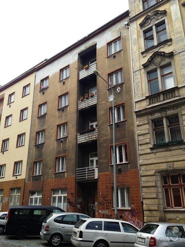 Opravu nátěrů dřevěných oken a malování v 5 bytech Praha 3 Žižkov: Husinecka_17_Praha_3