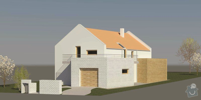 Architektonická studie rodinného domu: RD_krejcikovi10e