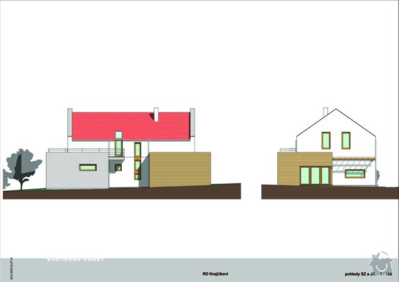 Architektonická studie rodinného domu: RD_krejcikovi07