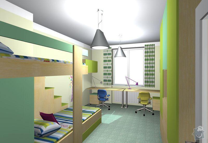Návrh interiéru dětského pokoje: detsky_pokoj_10