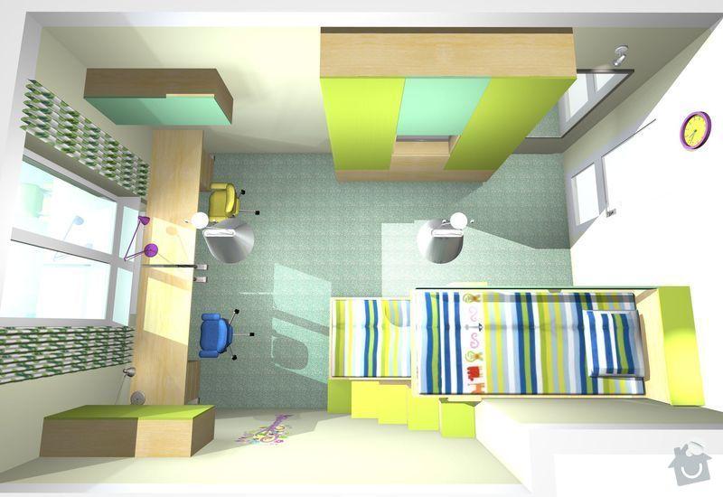 Návrh interiéru dětského pokoje: detsky_pokoj_12