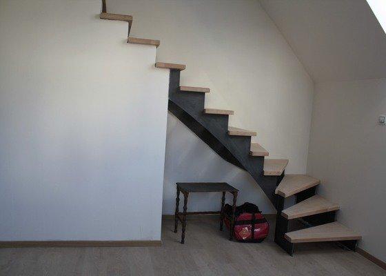 Výroba interiérového schodiště