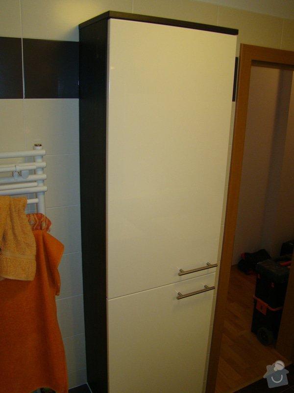 Vestavná skříň a koupelnový nábytek: DSC07530