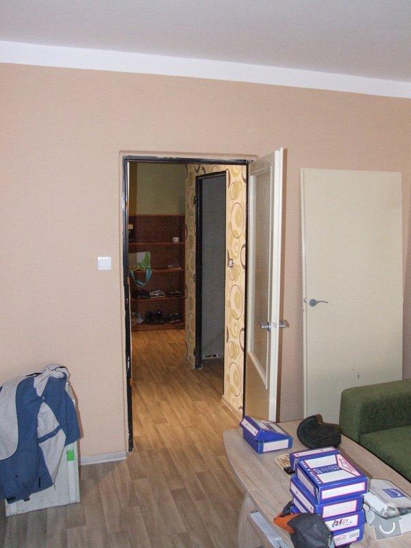 Montáž dveří a zárubní: DSCF3053