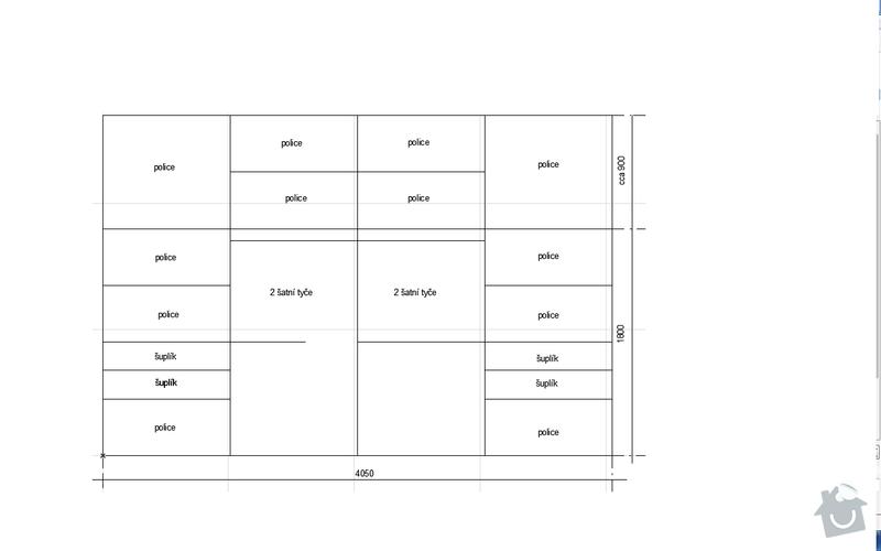 Vestavnou skrin do loznice: skrin_vnitrek