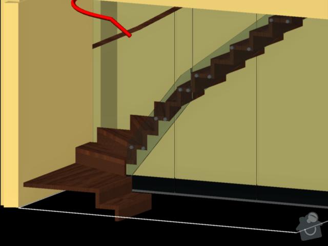 Atypické dřevěné schodište: 258