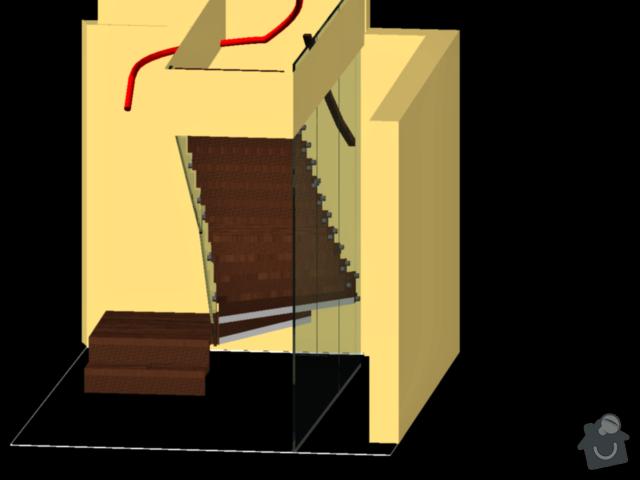 Atypické dřevěné schodište: 259