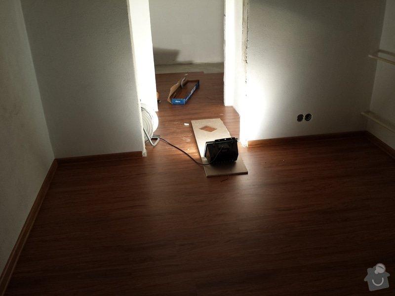 Pokládka vinylové podlahy : 20140211_183811