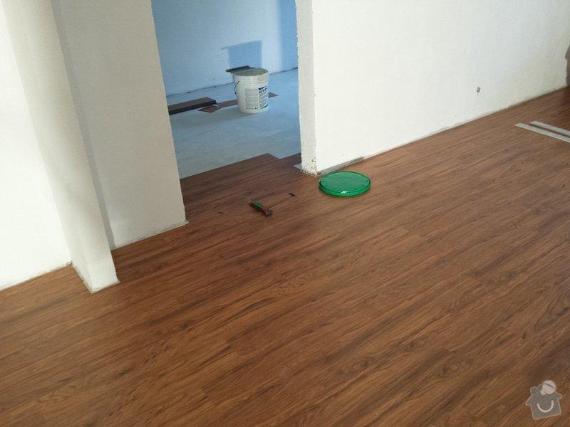 Pokládka vinylové podlahy : 20140211_144353
