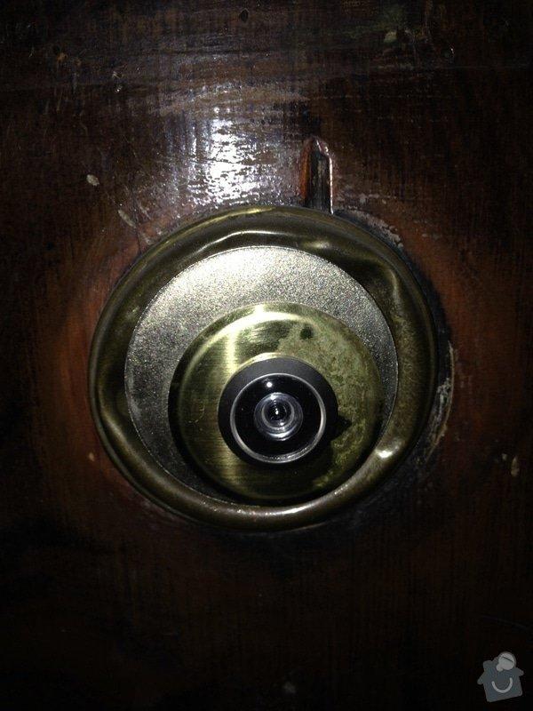 Zabezpečení dvoukřídlých vchodových dveří do bytu: IMG_20140221_182911