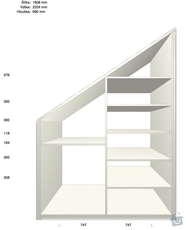Vyrobení skříně na uložení krámů na půdě: skrin