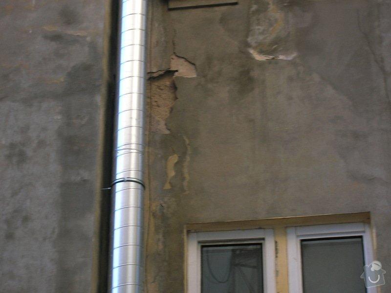 Výškové práce - oprava fasády.: Anglicka19dvur1