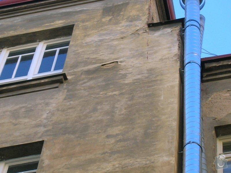 Výškové práce - oprava fasády.: Anglicka19dvur2