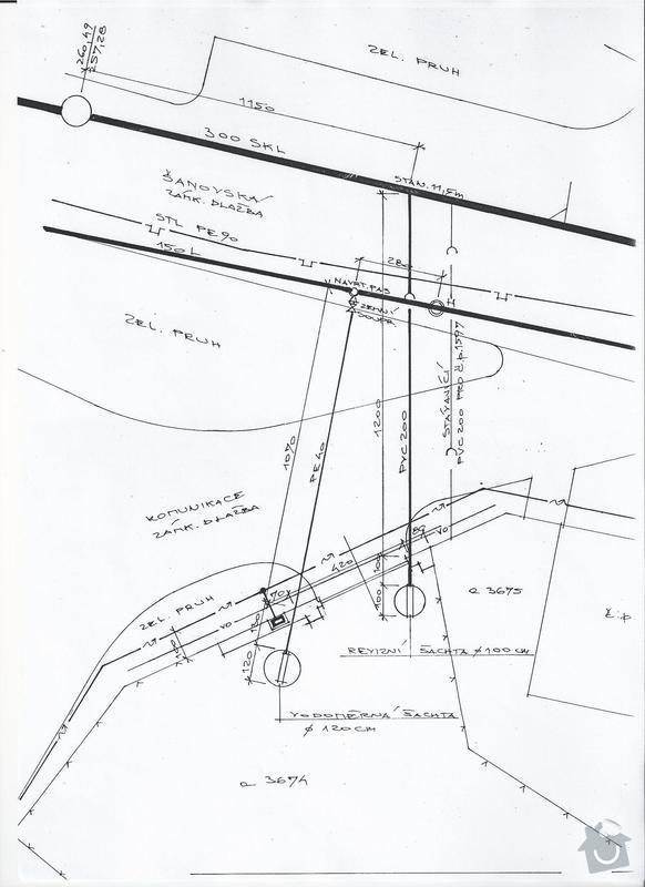 Výstavba vodovodní a kanalizační přípojky: pripojky