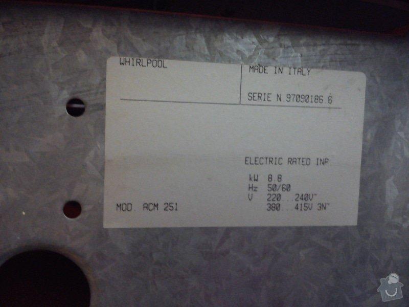 Oprava sklokeramického sporáku Whirpool: DSC_2035